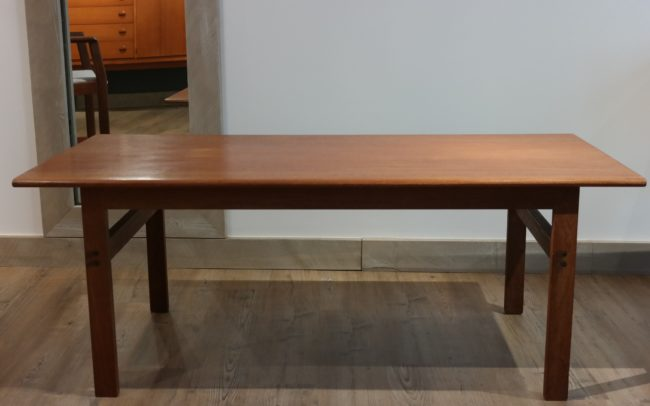 Table basse design scandinave, Illum Wikkelso, Danemark, 1960's.